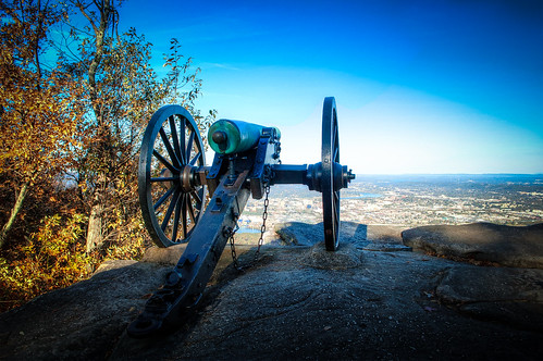 Cannon - Battle of Lookout Mountain - Battlefield View