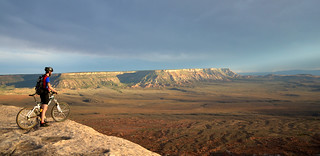 BLM Winter Bucket List #19: Gooseberry Mesa National Recreation Trail, Utah, for Challenging Biking Terrain and Spectacular Views | by mypubliclands