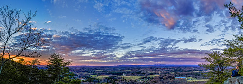 3xp hdr indianseats sawnee sawneemountain panaroma peaceful sunset view mountain