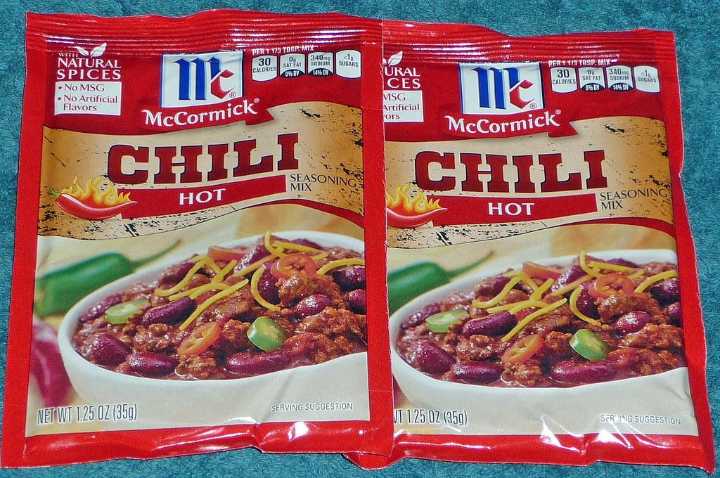 Mccormick Chili Packet 12 29 14 David Valenzuela Flickr