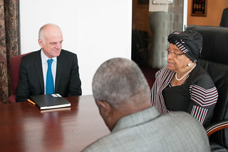 David Nabarro visits Monrovia, Liberia | by UNMEER
