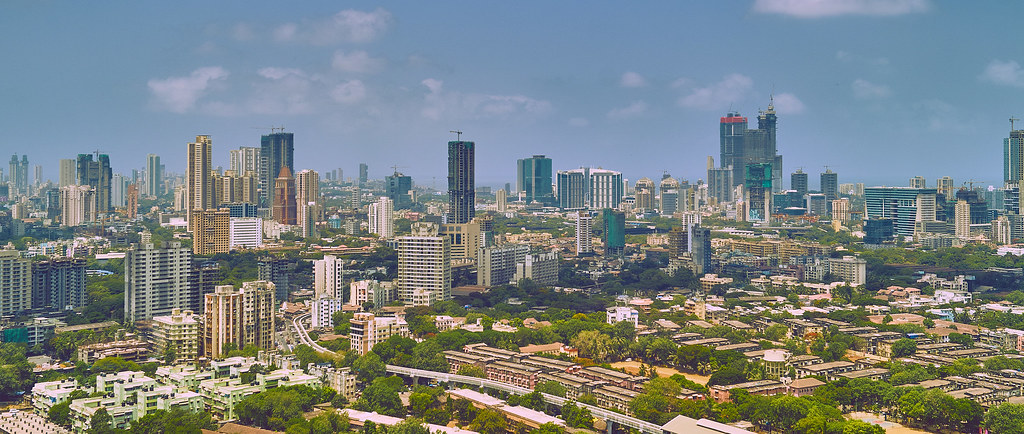 Mumbai Skyline Wide | Took this Shot in the South of Mumbai,… | Flickr