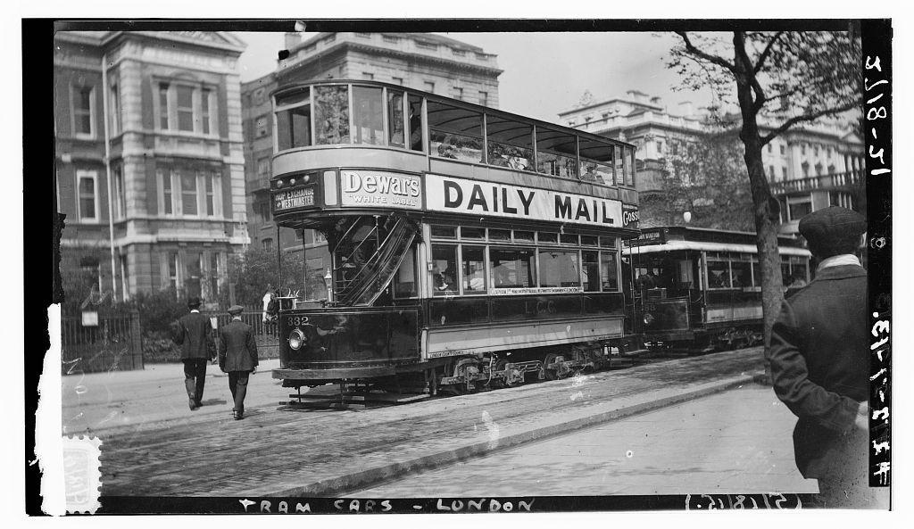 [London tram cars] (LOC)