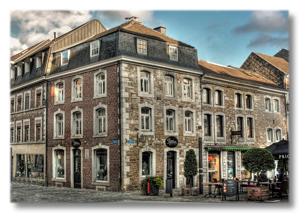 Eupen BE Street view 01 | Eupen is a city and municipality