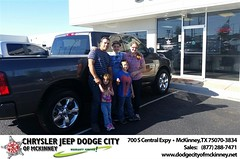 Dodge City McKinney Texas Chrysler Jeep Dodge Ram SRT Dallas Dealer Testimonials Customer Reviews -Andre Ravelli