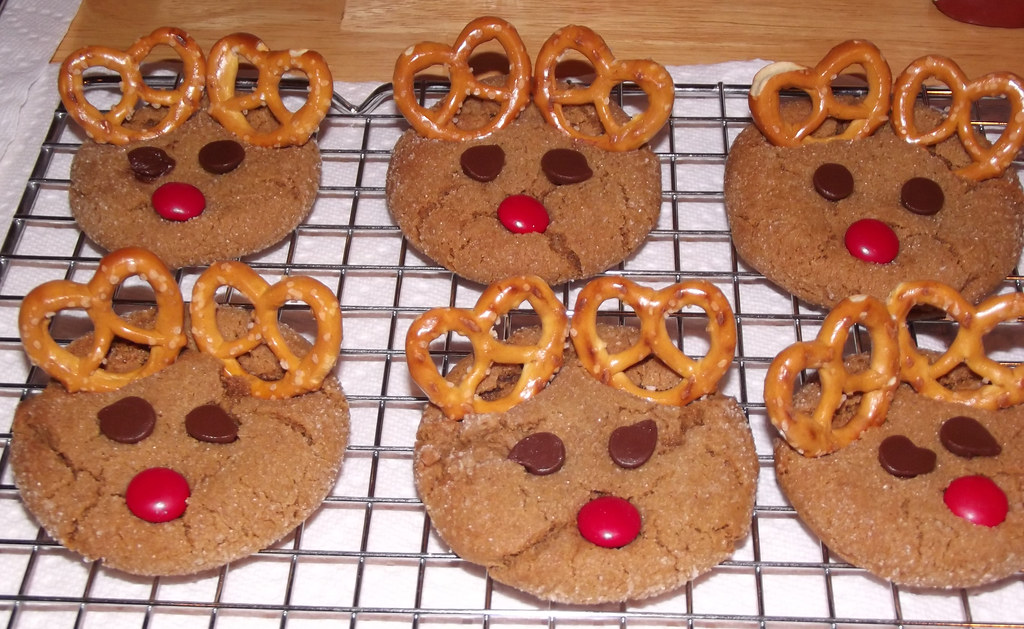 Reindeer Ginger Cookies 2 2013 Scumdogsteev Flickr