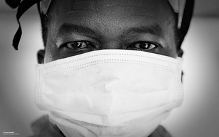 Doctor in the Fight Against Ebola in Sierra Leone | by Defence Images