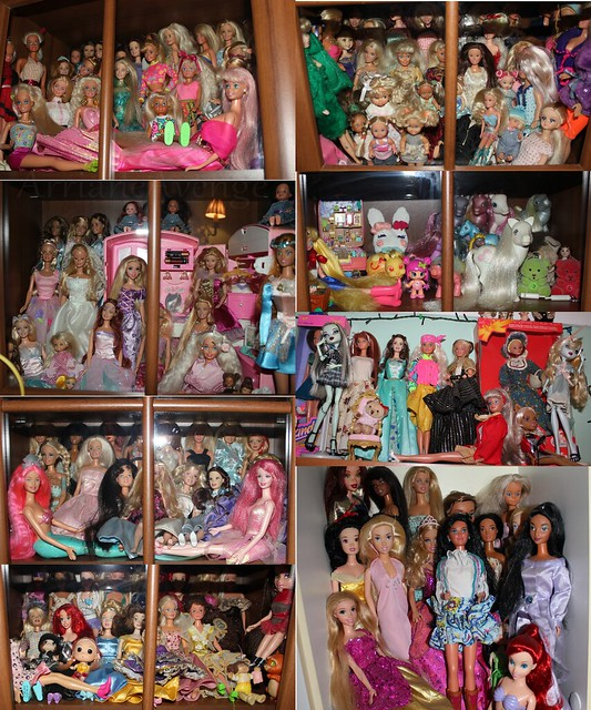 My collection Barbie dolls and other