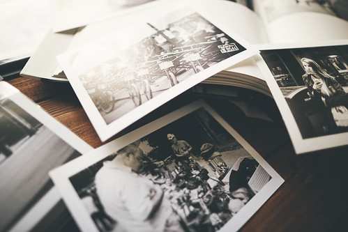 Looking through old photos