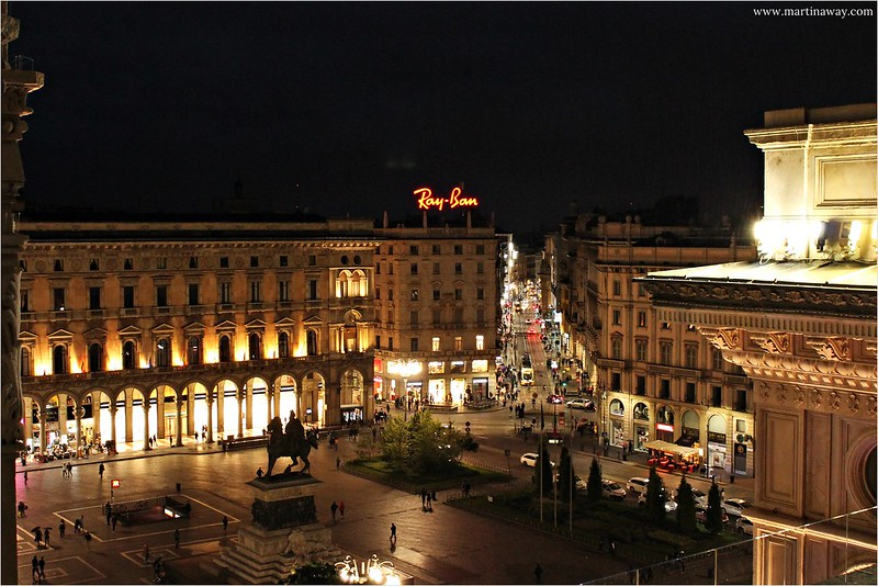 View from Highline Galleria Vittorio Emanuele