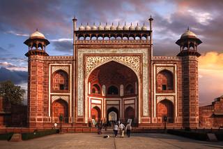 The Great Gate (Darwaza-i rauza) of Taj Mahal, Agra, Uttar Pradesh, India :: HDR | by :: Artie | Photography ::