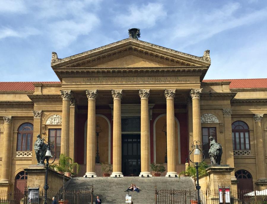Massimo Theatre Palermo Italy