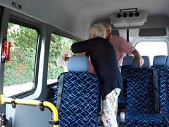 Plakkers in mijn bus :)