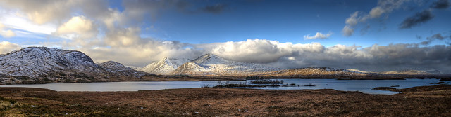 Loch Bà Rannoch Moor Glencoe Scotland 12/2014