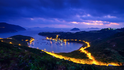 sunrise landscape hongkong fujifilm potoio