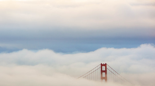 Golden Gate Bridge Fog in San Francisco California (December 2014) | by Anthony Quintano