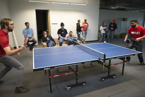 David Stillman Honorary Table Tennis Tournament! | by SparkFunElectronics