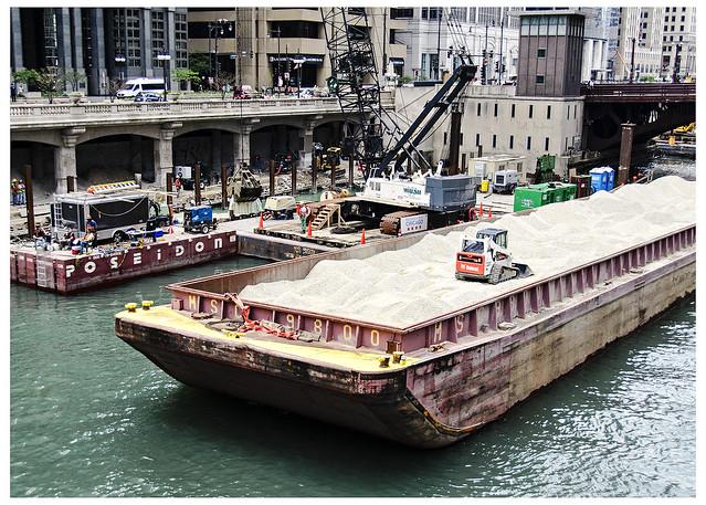 Chicago Riverwalk Construction