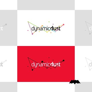 Logo design for Dynamic Dust, a mobile and desktop computer apps and games development studio. | by Alex Tass