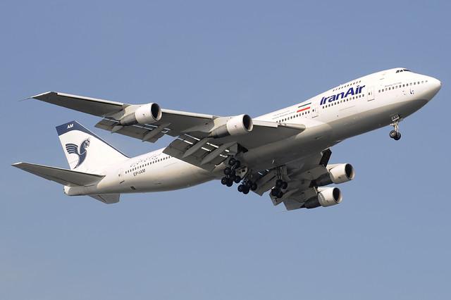 Iran Air Boeing 747-100 (EP-IAM) DSC6612