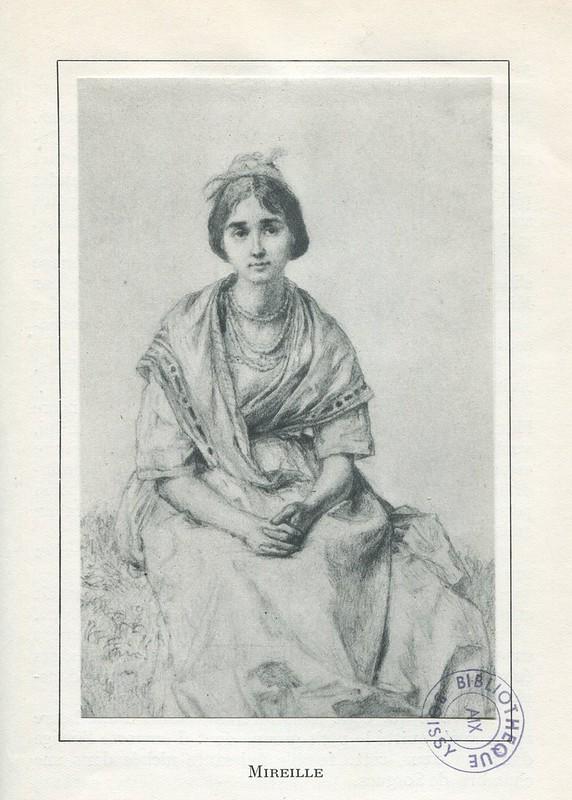Illustration de Mireille par Eugène Burnand