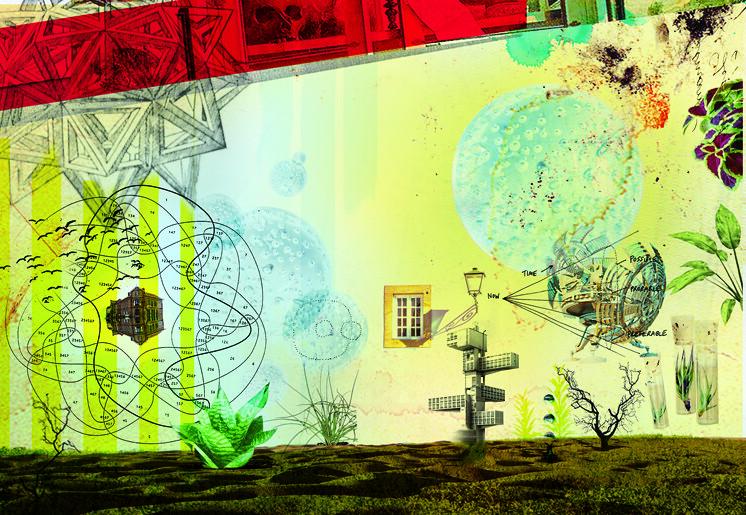 Futures Lab postcard