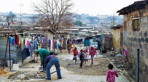 Running kids in alexandra | by CABloem