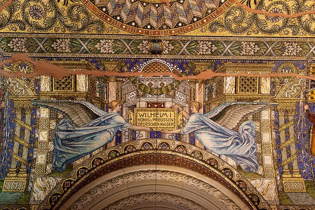 Ceiling Portion of Kaiser Wilhelm Memorial Church_8326