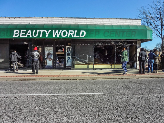 Beauty World in Downtown Ferguson