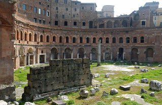 Trajan's Market and Exedra | by profzucker