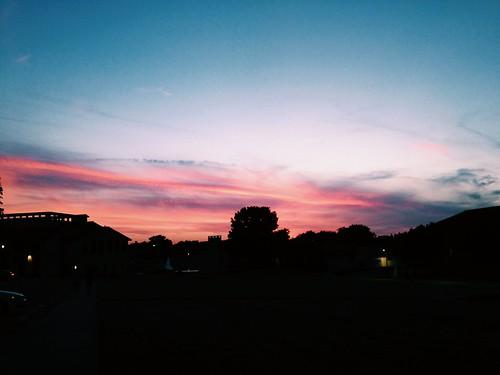 sky oklahoma silhouette oklahomawesleyanuniversity
