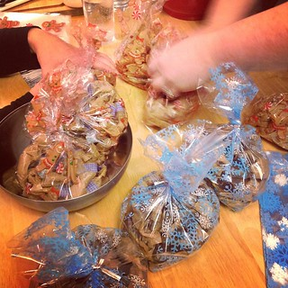 Three ladies, four kinds of caramels, plus peppermint patties! | by cosmicpluto