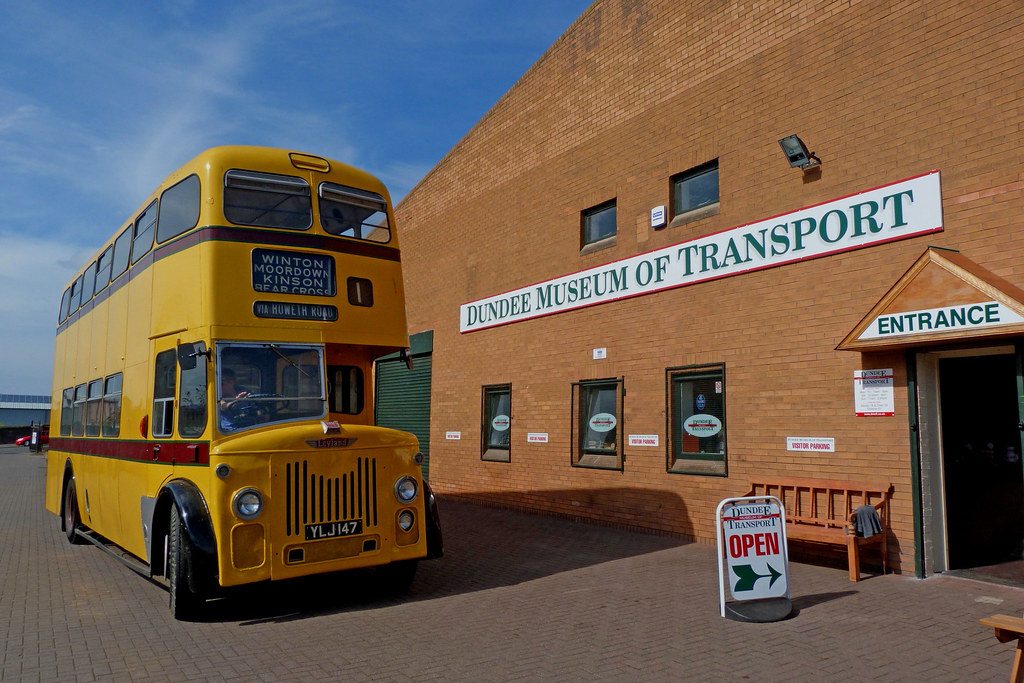 Dundee Museum Of Transport >> Ylj 147 At Dundee Museum Of Transport Although Not An Actu