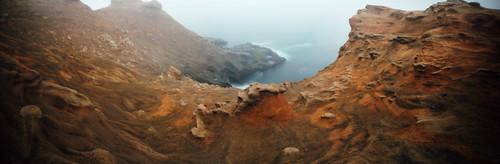 film oregon analog landscape pano panoramic pinhole pacificocean pacificnorthwest oregoncoast capekiwanda colornegative 6x12 kodakektar100 realitysosubtle141