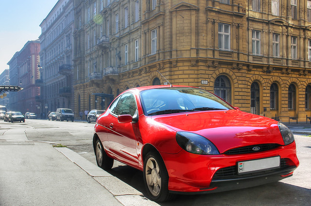 Ford Puma downtown Budapest HDR