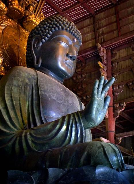 Buddah at Todai-ji