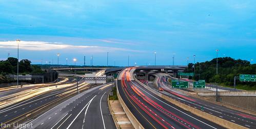 light nova virginia highway long exposure trails bowl va freeway springfield interstate lighttrails mixing northern 95 interchange i95 395 495 intrastructure