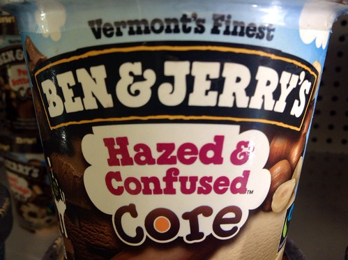 Ben & Jerry's Hazed & Confused Core Ice Cream, 2014, by Mike Mozart of TheToyChannel and JeepersMedia on YouTube #Ben #Jerry's #Ice #Cream #Hazed #Confused | by JeepersMedia