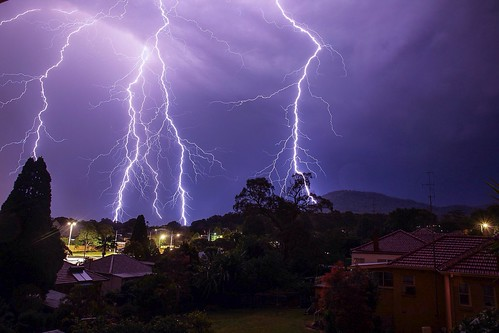 Quick snap of the storm last last night from my balcony