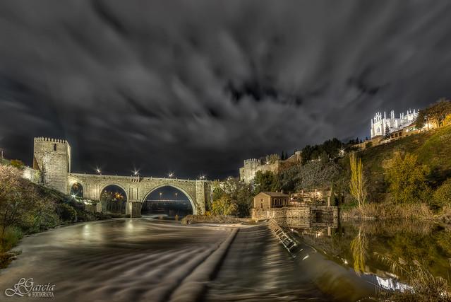 Nubes pasajeras sobre Toledo