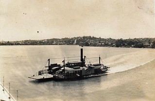 1937 - vehicular ferry somewhere in Australia