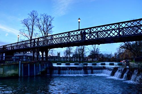 cambridge rivers rivercam weirs jesusgreen stjohnscollegecambridge footbridges