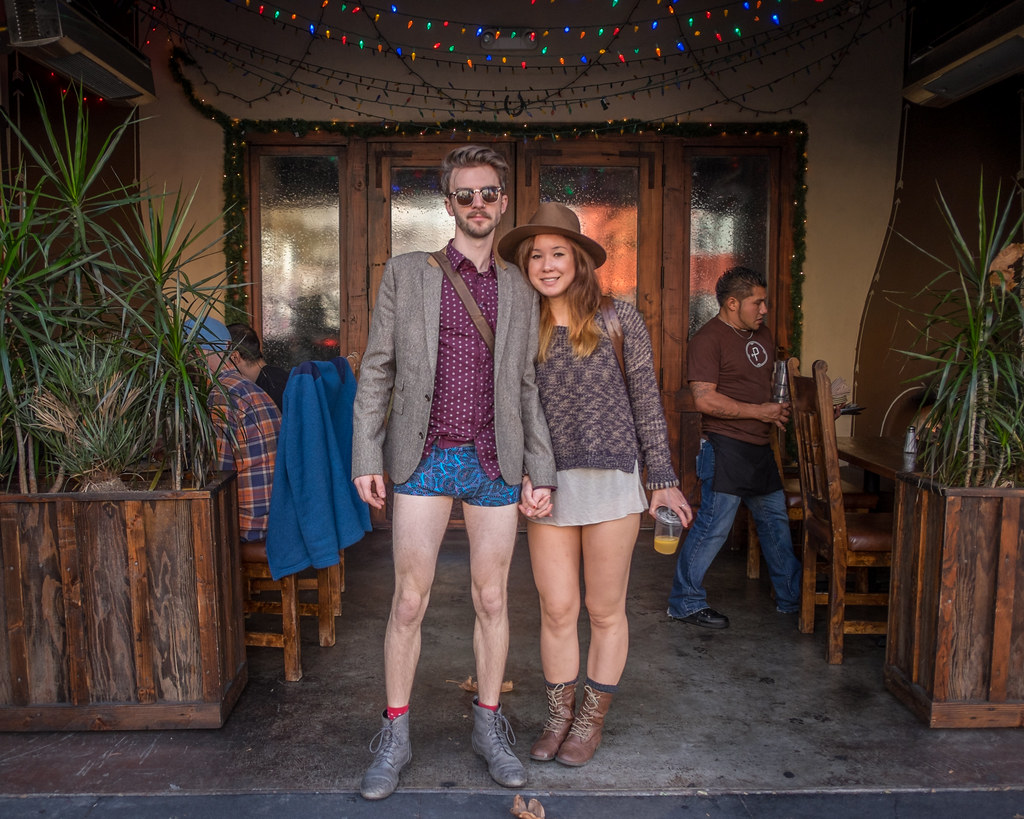 No Pants Subway Ride 2015: the infallible was issuable