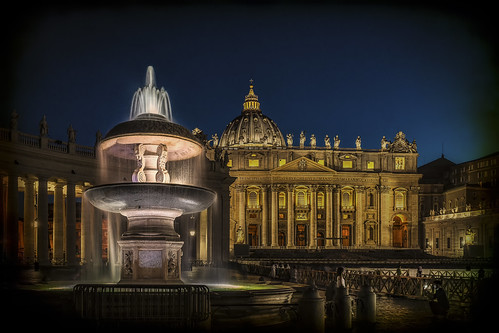 Rome, St Peter's Basilica   by Luc Mercelis