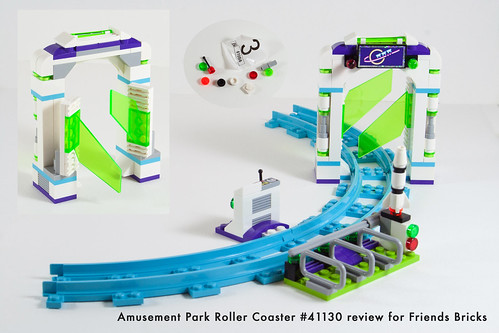 Set Review for Friends Bricks: 41130 Roller Coaster-15 | by fujiia.reviews