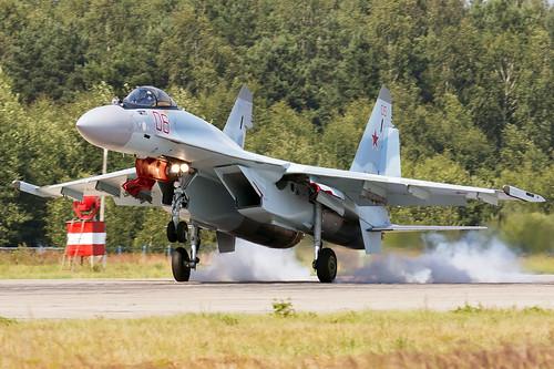 Sukhoi Su-35S | by Dmitry Terekhov