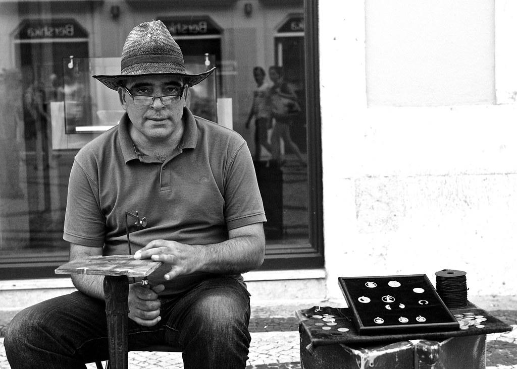 Lisbon artcraft man