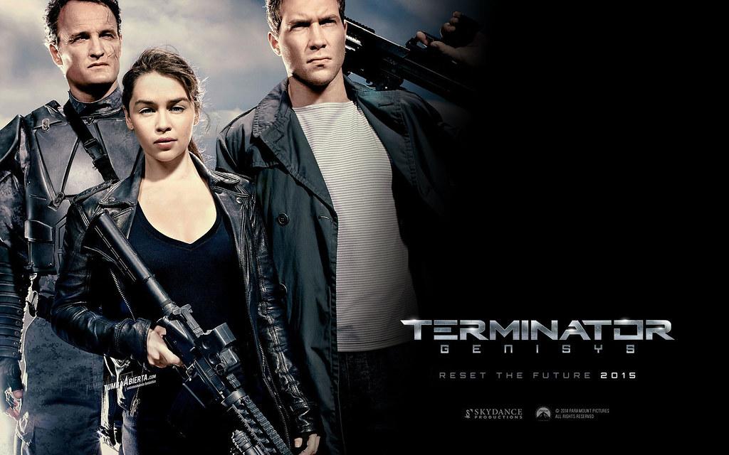 Terminator Genisys Reset Future 2015 Movie Hd Wallpaper