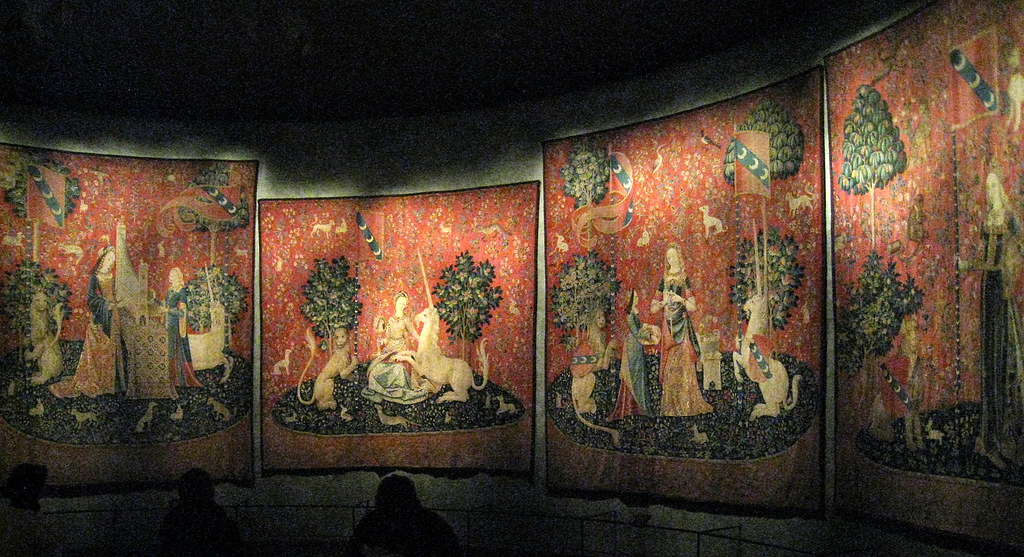 The Lady and the Unicorn tapestries (c.1500), Musée de Clu… | Flickr