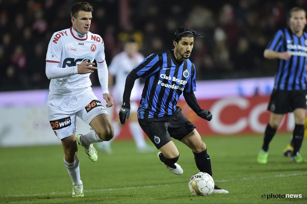 KV Kortrijk Club Brugge Lior Refaelov Of Club Flickr